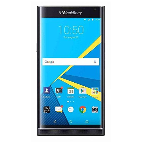تصویر گوشی هوشمند BlackBerry PRIV ،با گارانتی U.S. (سیاه) BlackBerry PRIV Factory Unlocked Smartphone STV100-2 GSM Unlocked