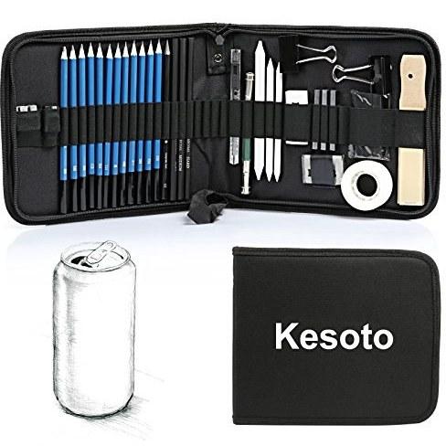 ست 35تایی تجهیزات طراحی کسوتو (Kesoto) |