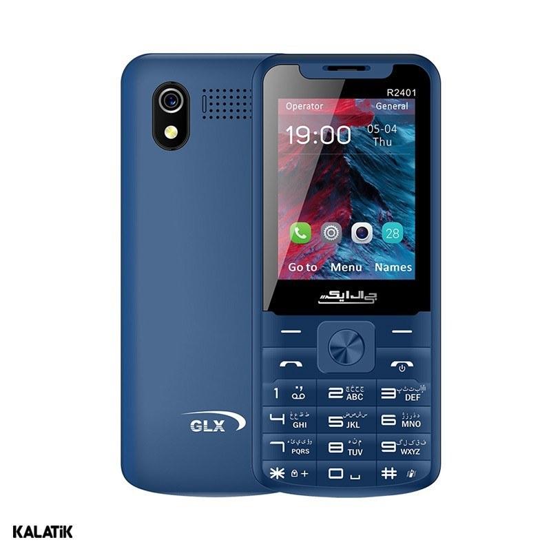 تصویر گوشی موبایل جی ال ایکس مدل R2401 دو سیم کارت GLX R2401 Dual SIM Mobile Phone