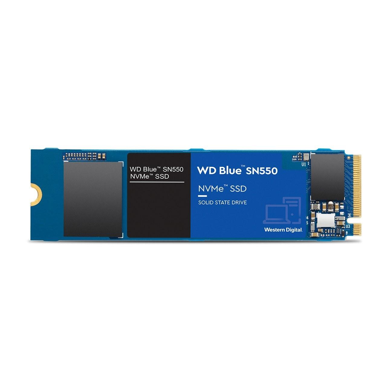 تصویر اس اس دی اینترنال وسترن مدل SN550 NVMe Blue ظرفیت 1 ترابایت