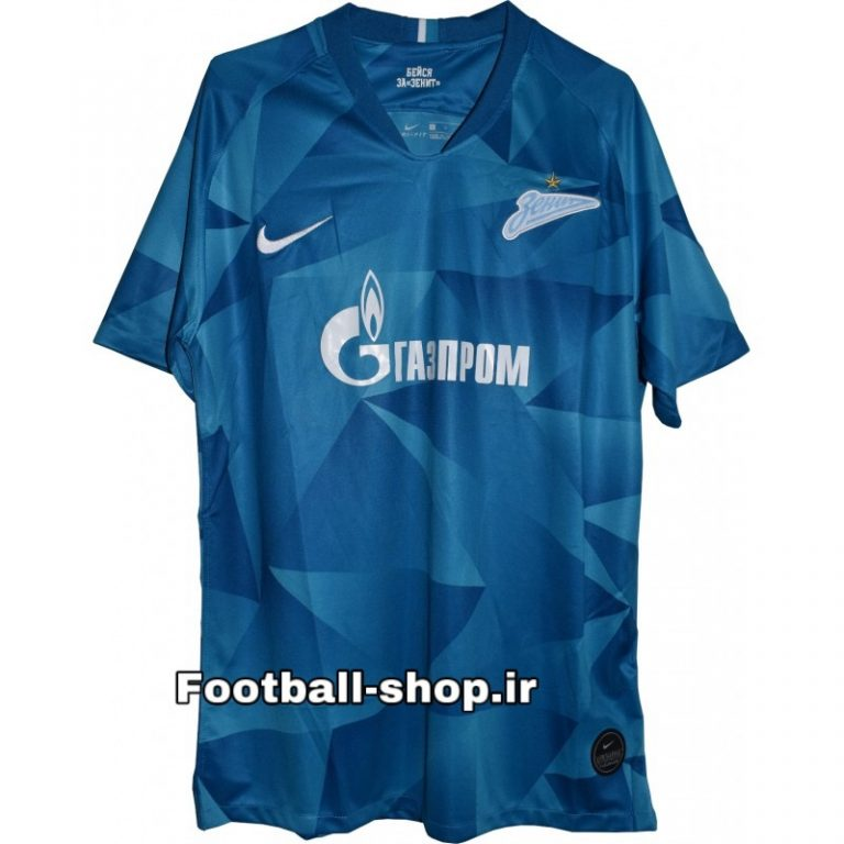 تصویر پیراهن اول +A گرید یک آستین کوتاه اورجینال 2020 زنیت-Nike
