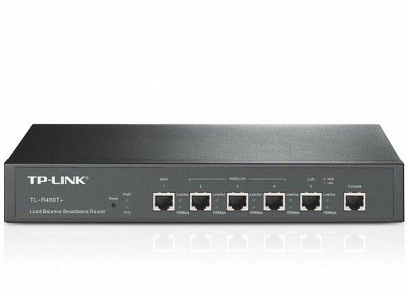 تصویر لود بالانسر تی پی لینک مدل TP-Link TL-R480T Plus TP-LINK TL-R480T+ Load Balance Broadband Router