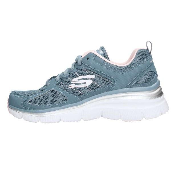 کفش مخصوص پیاده روی زنانه اسکچرز مدل MIRACLE 12713SLT  