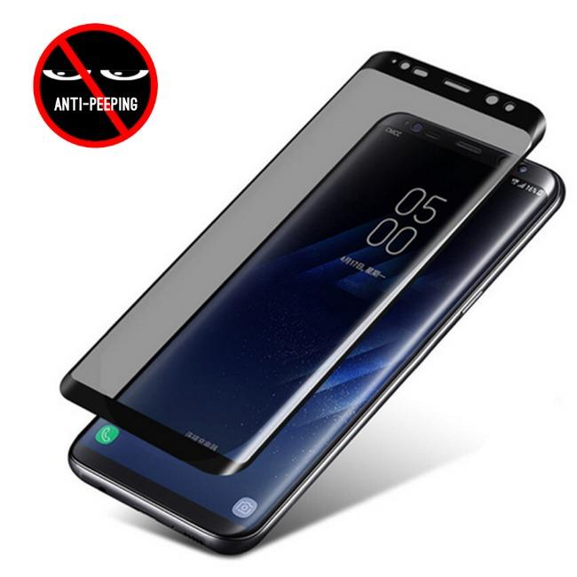 گلس ضد جاسوسی گوشی سامسونگ Anti Spy Privacy Glass Samsung Galaxy S8 Plus | Anti Spy Privacy Glass Samsung Galaxy S8 Plus