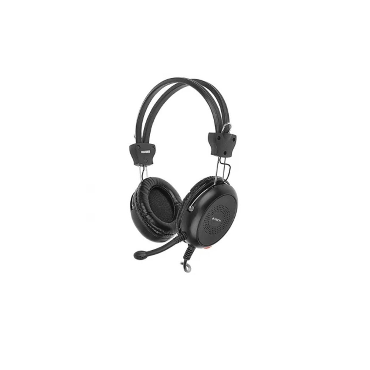 تصویر هدست باسیم ای فورتک مدل A4TECH HS-30 Stereo Headset Wired A4tech HS-30