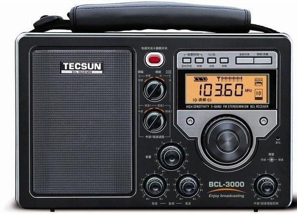 تصویر رادیو تکسان فول موج مدل TECSUN BCL-3000