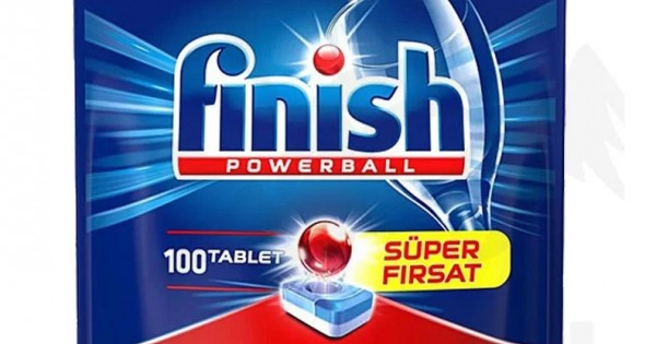 تصویر قرص ماشین ظرفشویی فینیش 100 عددی Finish Powerball All in One Max 100 Tablet
