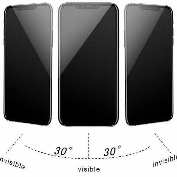 گلس ضد جاسوسی گوشی آیفون Anti Spy Privacy Glass Apple iPhone 11 Pro