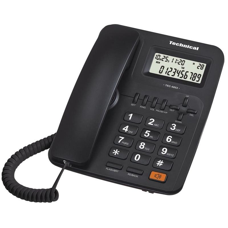 تصویر تلفن تکنیکال مدل TEC-5853