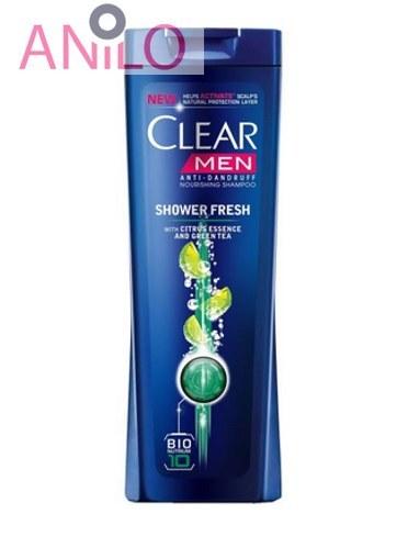 عکس شامپو ضد شوره مردانه کلیر مدل Shower Fresh حجم 400 میلی لیتر Clear Shower Fresh Anti Dandruff Hair Shampoo For Men 400ml شامپو-ضد-شوره-مردانه-کلیر-مدل-shower-fresh-حجم-400-میلی-لیتر