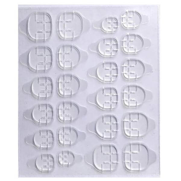 چسب ناخن مصنوعی مدل 14 مجموعه 24 عددی