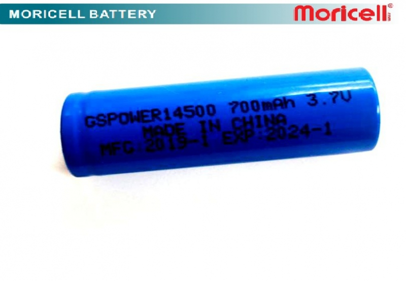باتری قابل شارژ قلمی 700 میلی آمپر 14500جی اس پاور  
