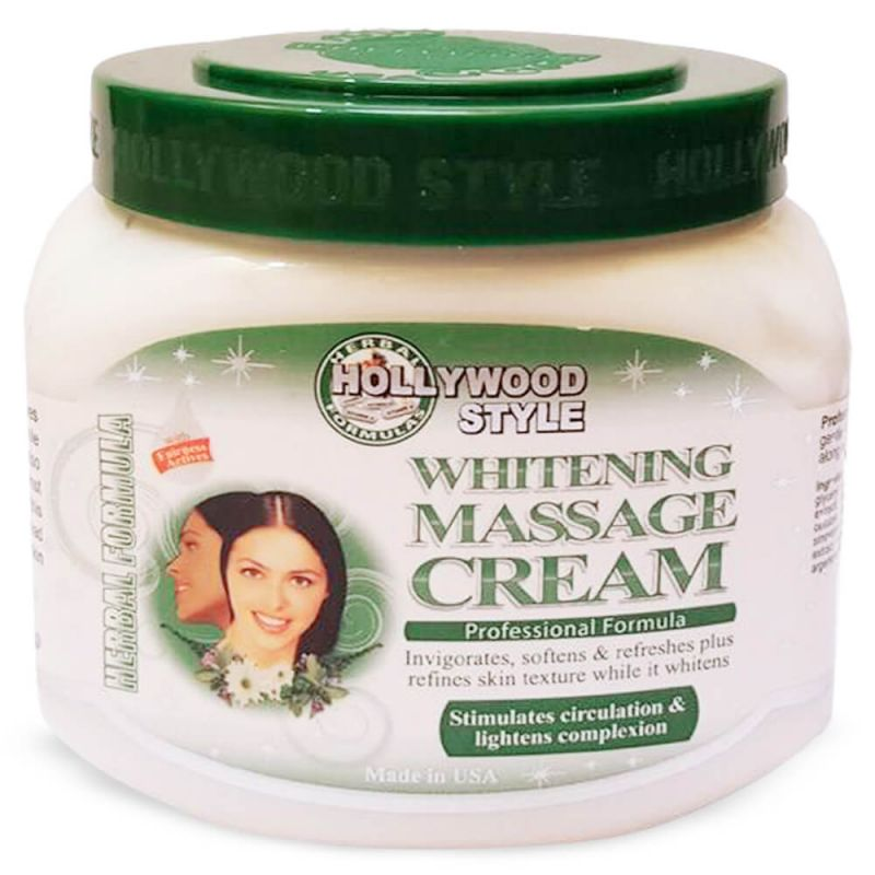 Hollywood Style Whitening Massage Cream 310 gr