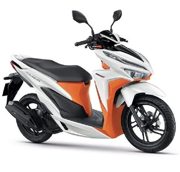 تصویر موتور سیکلت هوندا کلیک 150i جدید 2020