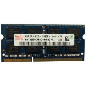 رم لپ تاپ DDR3 تک کاناله ۱۶۰۰ مگاهرتز CL11  هاینیکس مدل  PC3 ظرفیت 4 گیگابایت  