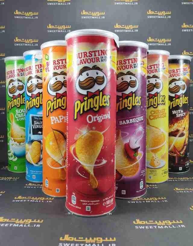 تصویر چیپس پرینگلز 165 گ Pringles