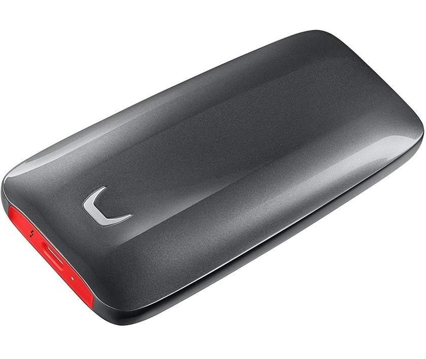 تصویر حافظه اس اس دی قابل حمل سامسونگ مدل ایکس ۵ با ظرفیت ۱ ترابایت SAMSUNG X5 1TB Thunderbolt 3  Portable External SSD Drive