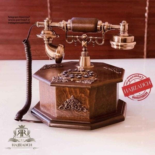 تصویر JMP جی ام پی تلفن چوبی  قهوه ای  T05-BROWN