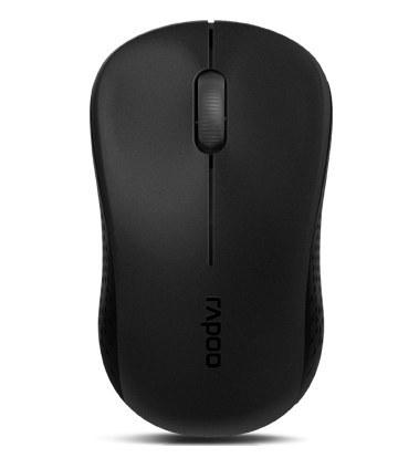 تصویر موس بی سیم رپو مدل Mouse Wireless RAPOO M20 PLUS Black Mouse Wireless Rapoo M20