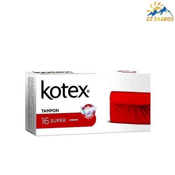 نوار استخری کوتکس مدل TAMPON تعداد 16 عددی Kotex |