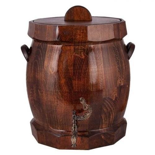 کلمن چوبی خانه چوبی طرح بشکه کد 610001 |