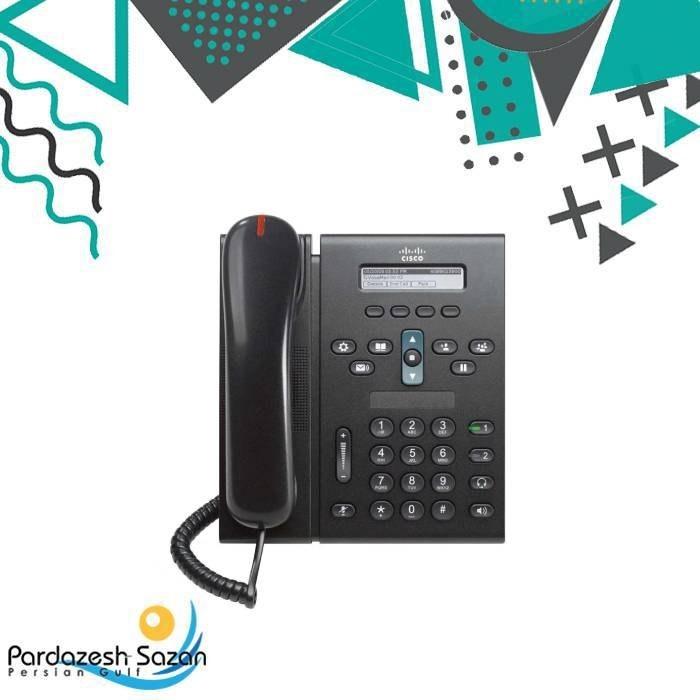 تصویر IP Phone Cisco CP 6921 تلفن تحت شبکه سیسکو CP-6921