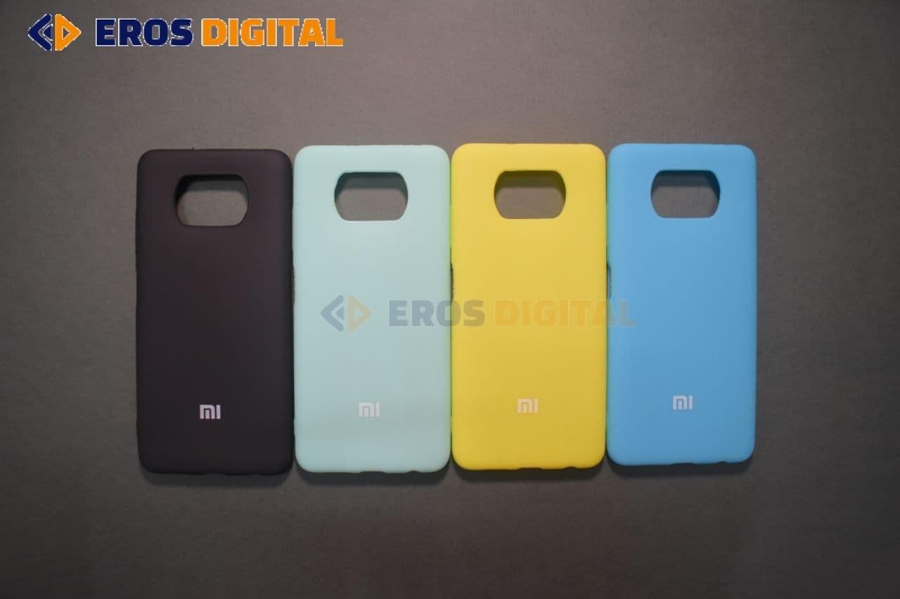 تصویر قاب گوشی شیائومی Xiaomi Poco X3 Pro مدل سیلیکونی Silicone Cover Case for Xiaomi Poco X3 Pro