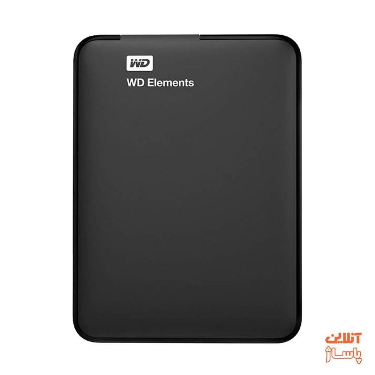 تصویر هارد اکسترنال وسترن دیجیتال مدل Elements ظرفیت 500 گیگابایت Western Digital Elements External Hard Drive - 500GB