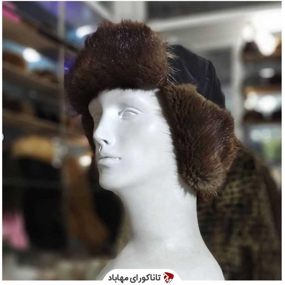 تصویر کلاه روسی ترکیب خز و چرم ا Russian hat Russian hat