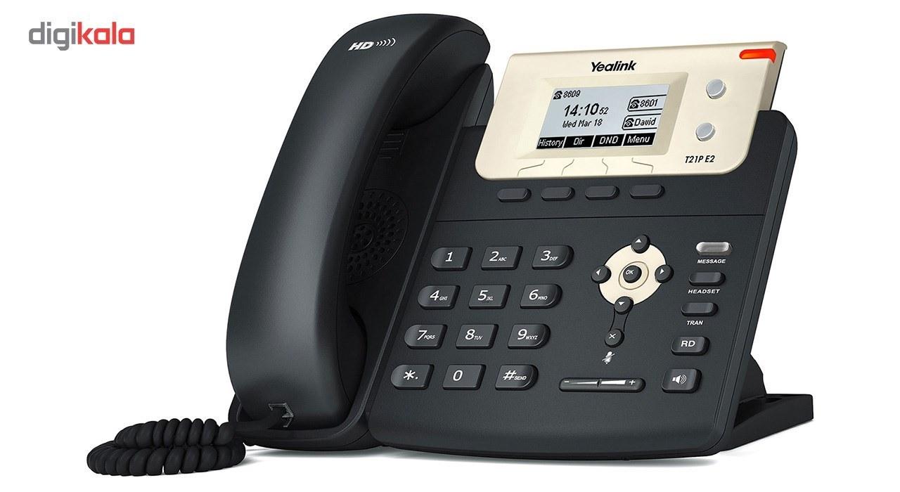 تصویر Yealink T21P E2 IP Phone یالینک قیمت   به شرط خرید تیمی