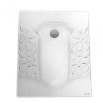 تصویر توالت زمینی مروارید مدل والنتینا