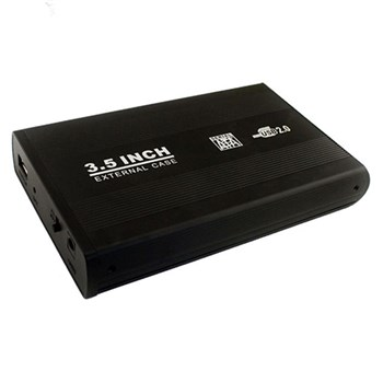 باکس تبدیل SATA به USB 2.0 هارددیسک 3.5 اینچ مدل HD-1 | HD-1 SATA to USB 3.0 3.5 Inch Hard Enclosure