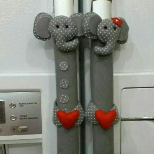 عکس دستگیره یخچال فریزر طرح فیل  دستگیره-یخچال-فریزر-طرح-فیل