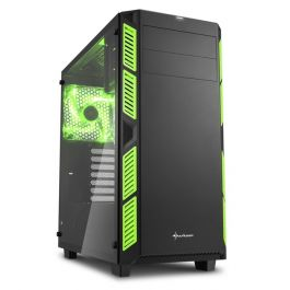 تصویر کیس شارکن AI7000 Glass Green AI7000 Glass Green