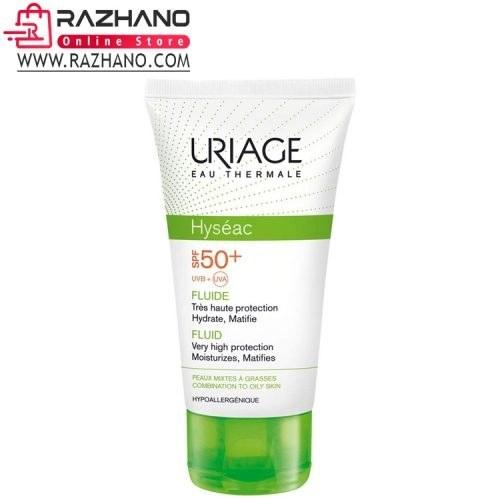 کرم ضد آفتاب اوریاژ مدل URIAGE Hyseac با SPF50 حجم ۵۰ میل