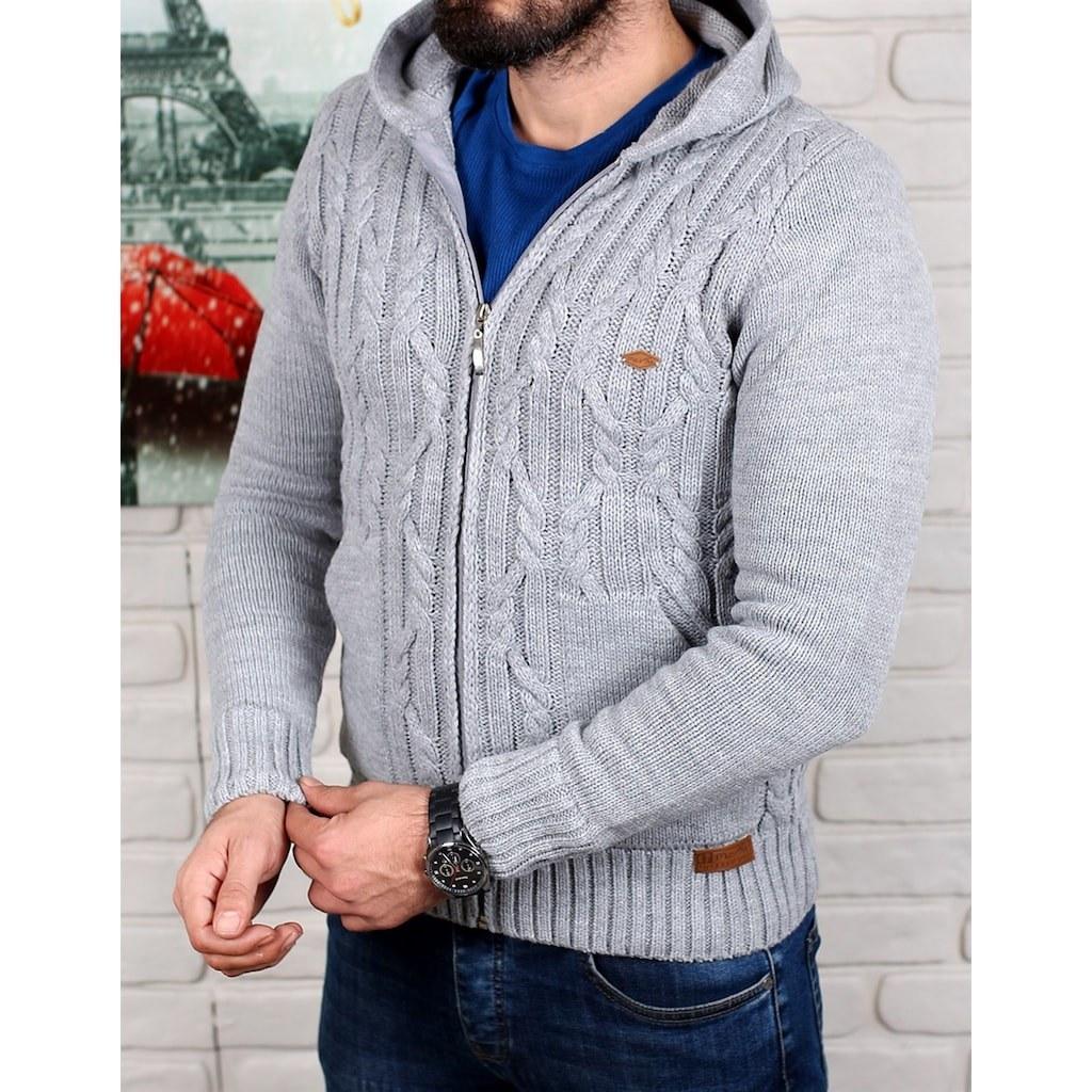 خرید اینترنتی ژاکت مردانه برند barcha از ترکیه