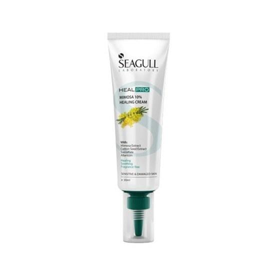 تصویر کرم ترمیم کننده میموزا 10% Seagull Seagull Mimosa 10% Healing Cream