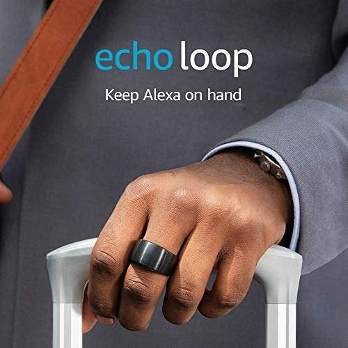 حلقه انگشتر آمازون مدل اکو لوپ برای ارتباط با الکسا اندازه خیلی بزرگ