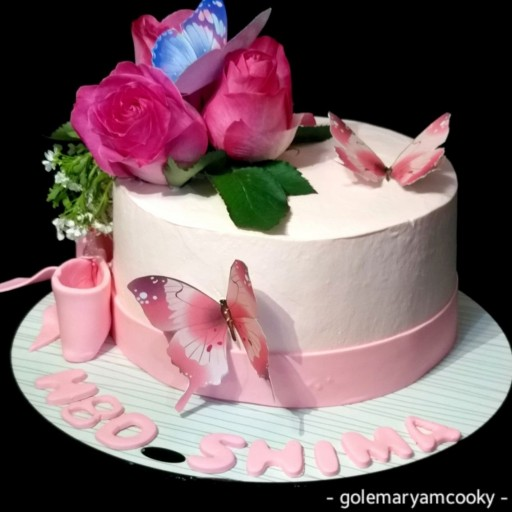 کیک تولد دخترونه