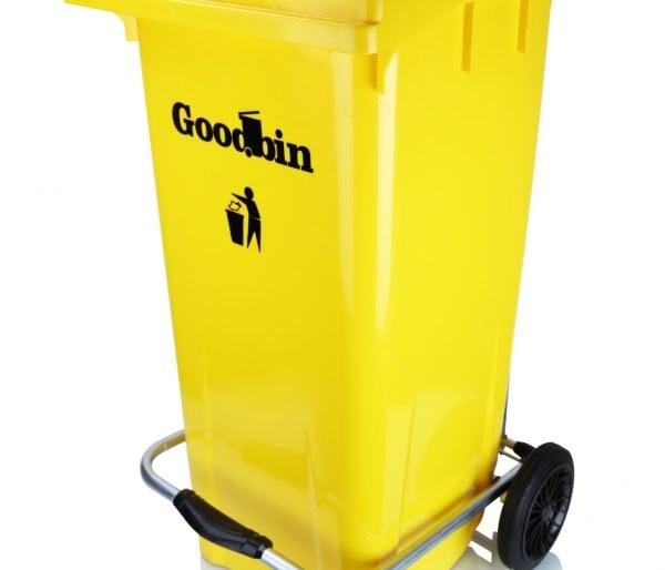 تصویر مخزن زباله 240 لیتری گود بین