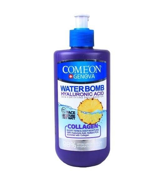 تصویر کرم آبرسان کامان سری واتربمب مدل Collagen حجم 500 میلی لیتر Come'on Collagen Water Bomb Moisture Cream 500ml