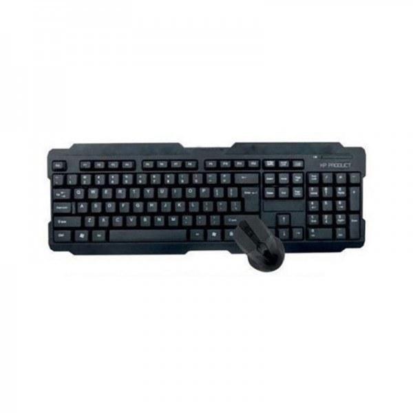 تصویر کیبورد و ماوس بی سیم ایکس پی مدل XP-W4403 XP-W4403 Wireless Keyboard and Mouse