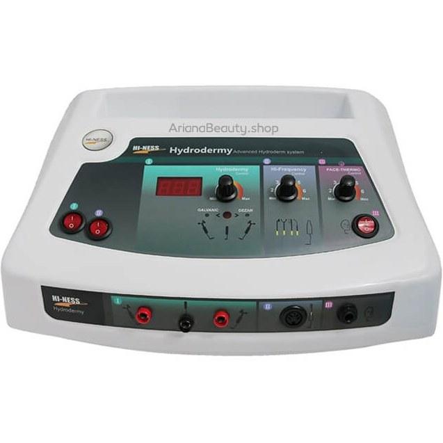 تصویر دستگاه هیدرودرمی با ماسک حرارتی (پویان تجهیز)