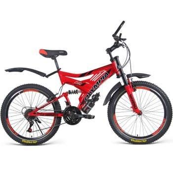 دوچرخه دو کمک کوهستان مدل 2462 سایز 24   Olympia 2462 Mountain Bicycle Size 24