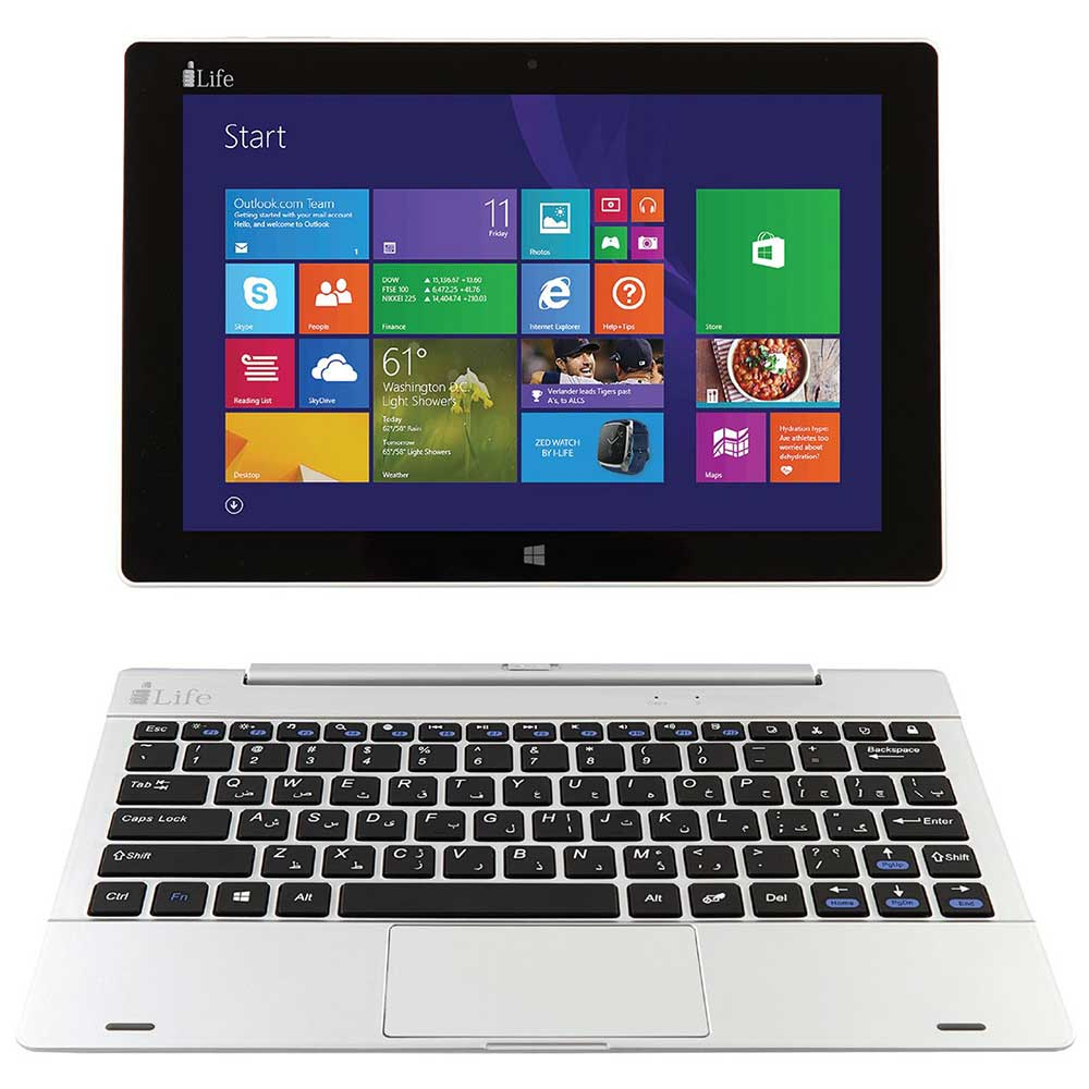 تبلت آي لايف مدل Zedbook  به همراه کيبورد ظرفيت 32 گيگابايت | i-Life Zedbook  With Keyboard 32GB Tablet