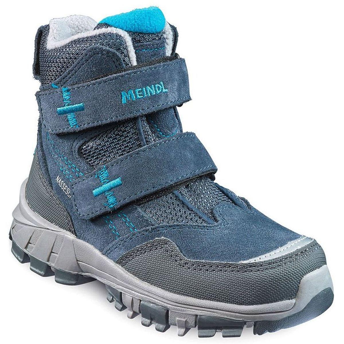 عکس کتانی کوهنوردی بچگانه مندل (آلمان) Meindl Polar Fox Junior Boots Kinder Winterschuhe blau  کتانی-کوهنوردی-بچگانه-مندل-المان-meindl-polar-fox-junior-boots-kinder-winterschuhe-blau