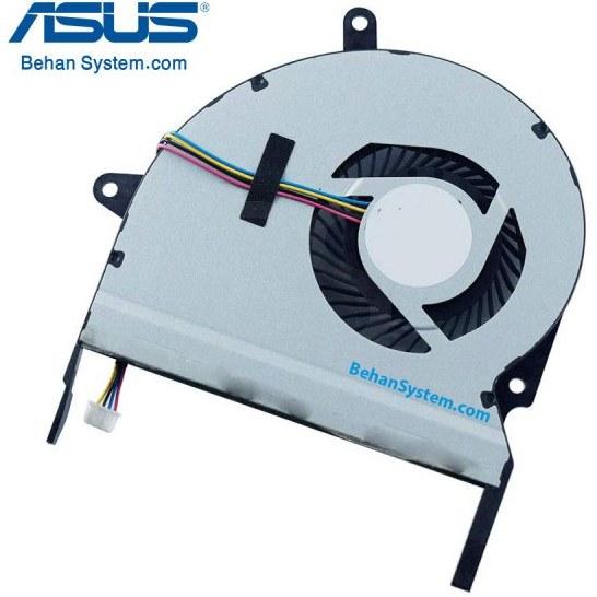 تصویر فن پردازنده لپ تاپ ASUS مدل F401A چهار سیم / DC05V