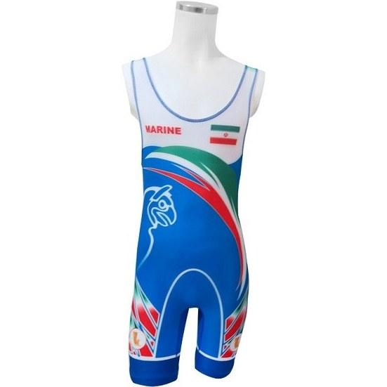تصویر دوبنده کشتی طرح تیم ملی مارین ا MARINE  Wrestling Suit Design  National Team MARINE  Wrestling Suit Design  National Team