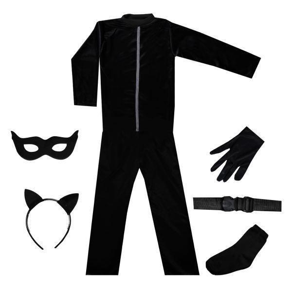 تصویر لباس پسر گربه ای Cat Noir
