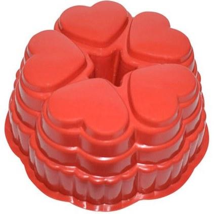 تصویر قالب ژله ۵ قلب